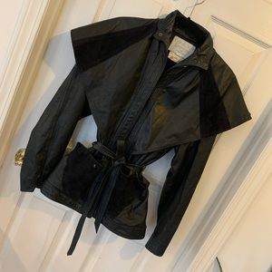 Collection D'Artisan Leather Jacket